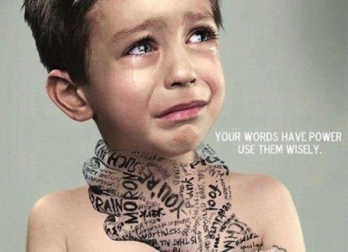 Your words have power… use them wisely.
