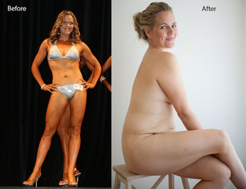 Adelaide mother Taryn Brumfitt gathers international applause for nude post-pregnancy pictures
