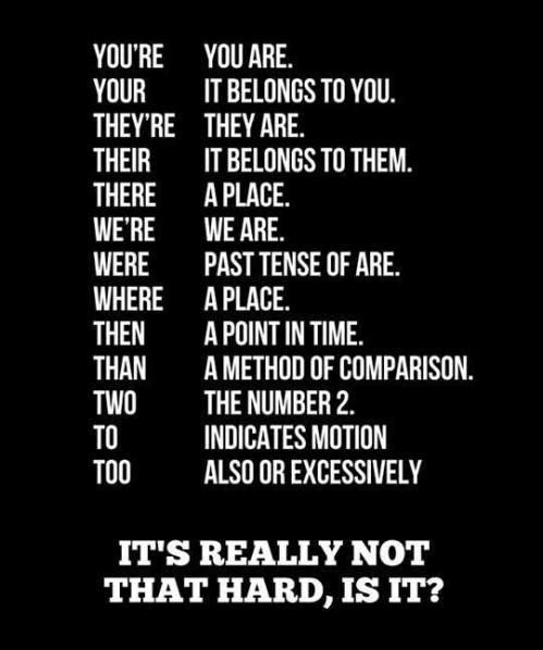 English - It's really not that hard