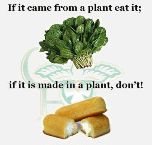 If it comes from a plant eat it
