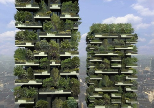 A vertical forest
