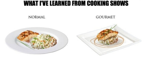 My culinary education