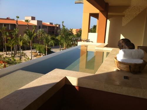 Spa on Balcony of  Condo