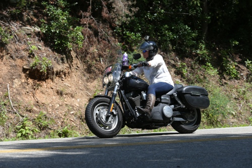 Me riding the