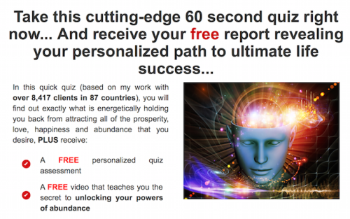60 Second Life Success Quiz
