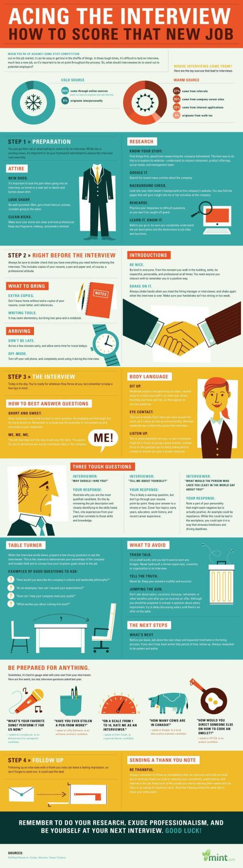 Job Interview Infographic 3