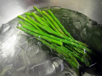 blanching-asparagus
